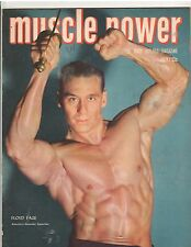 Muscle Power Bodybuilding fitness magazine Floyd Page AAU Mr America 7-50