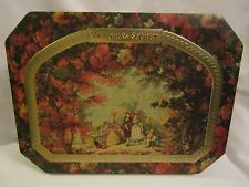 Victoria's Secret Elegant Floral Victorian Family Tin Container Made in England