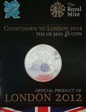 2011 £5 ROYAL MINT CROWN COUNTDOWN TO LONDON 2012 1 FIVE POUND COIN UNCIRCULATED