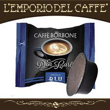 100 Capsule Cialde Caffè Borbone Don Carlo Blu compatibili Lavazza A Modo Mio