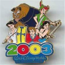 HEROES Beast PETER Aladdin 2003 THE MAGICAL PLACE TO BE LE 3500 DISNEY PIN 21388