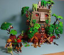 Playmobil Dschungel/Jungle~Dschungelruine/Jungle Ruins & Anleitung/Manual(3015)