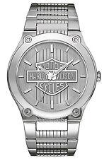 HARLEY-DAVIDSON Uhr Signature Armbanduhr für Herren 76A134 NEU & OVP