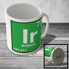 MUG_ELEM_102 (77) Iridium - Ir - Science Mug