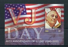 Niue 2005 MNH WWII VJ Day 60th Anniv World War II 1v S/S Roosevelt Stamps
