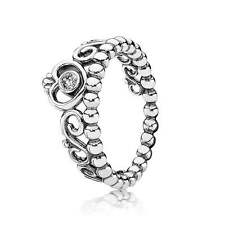 Authentic Pandora 190880CZ-52 My Princess Clear CZ Ring Size ( 6 )