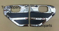 CHROME SIDE LAMPS SIDE VENT COVER TRIM FOR TOYOTA HILUX VIGO SR5 MK6 V.2 2005-10