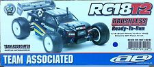 TEAM ASSOCIATED RC18T2 RTR 4x4 Brushless 2.4ghz 1/18th truggy AS20104