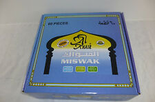 Lot Of 60 Al Khair Natural Toothbrush Sewak Miswak Stick Vacuum Sealed Peelu Box