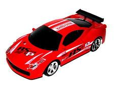 RC Auto Racing Car 1:24 Fernbedienung LED Licht Rot Spielzeug Rennwagen Fahrzeug