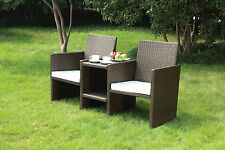 2 Seater Garden Companion Set Furniture Free Delivery!