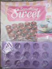 DEAGOSTINI SOMETHING SWEET MAGAZINE ISSUE 5 WITH 15 HOLE CHOC CARAMEL CUP MOULD