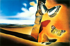 Framed Print - Salvador Dali Landscape with Butterflies 1956 (Painting Picture)