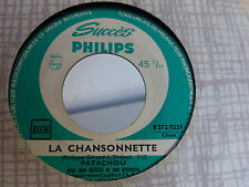 PATACHOU La chansonnette / la joconde B372932F JUKE BOX
