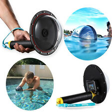 Unique Diving Camera Lens Dome Port Shell Cover+ Grip for GoPro Hero 3/3+/4 sy