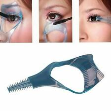 3in1 Mascara Applicator Guide Tool Eyelash Comb Makeup