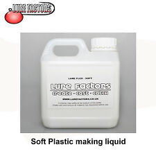 5Ltr SOFT GRADE UV LIQUID SOFT PLASTIC PLASTISOL FOR MAKING  SOFT BAIT  LURES
