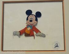 "VERY  RARE DISNEY 1983 ""Mickey's Christmas Carol' PRODUCTION CEL MICKEY MOUSE"