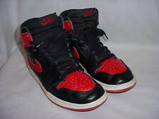 1994 Vintage NIKE AIR JORDAN 1 Retro Basketball Shoes Bred Red Black 8.5