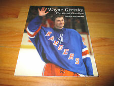 "1999 WAYNE GRETZKY ""The Great Goodbye"" Edited by Scott Morrison SC Book RANGERS"