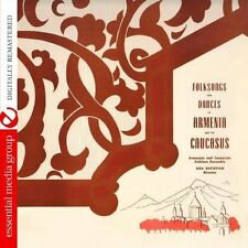 Armenian-Caucasian Folk Ensemble - Folksongs & Dances Of Armenia (2013, CD NEUF)