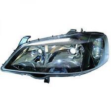 Faro fanale anteriore Sinistro OPEL ASTRA G 97-04 DEPO fondo nero per reg elettr