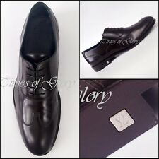 Louis Vuitton Men Brown Leather Formal Lace Up Brogues Oxford Shoe Sz 41.5 UK7.5