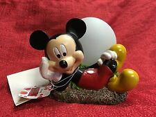 Disney Mickey Mouse Solar LED Sphere Globe Outdoor Resin Statue New