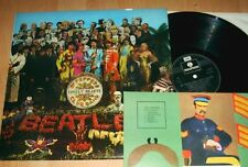 Beatles -  Sgt Peppers Lonely Hearts Club Band - LP - UK PCS 7027 Bastelbogen