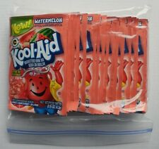 24 packets of KOOL-AID drink mix: WATERMELON flavored UNSWEETENED caffeine free