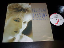 "Fruits Of Passion ‎– Kiss Me Now 12"" Siren  ‎– SIREN 19 12 Uk 1986"