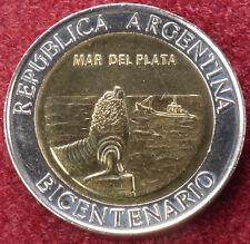 Argentina 1 Peso 2010 Mar Del Plata (C1209)