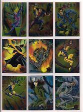 1995 MARVEL FLEER ULTRA X-MEN COMPLETE SINISTER OBSERVATIONS CHASE CARD SET NM