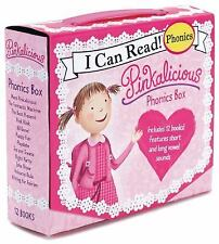 Pinkalicious Phonics Box Set (My First I Can Read) Set Of 12 Paperback Books NEW