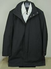 $595 New Jos A Bank JOSEPH collection solid charcoal car coat 40 L Free Shipping