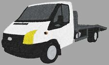 Ford Transit Beavertail embroidered on Polo Shirt