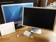 "APPLE HD CINEMA DISPLAY MONITOR A1082 23"" 90GHZ 1920X1200 SCHERMO PANORAMICO"