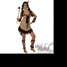 INDIAN PRINCESS POCAHONTAS DRESS HALLOWEEN COSTUME medium