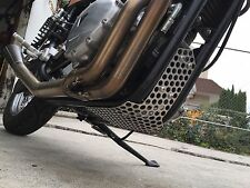 """The """"Cheese Grater""""  Bash Guard / Skid Plate - Fits Modern Triumphs"""