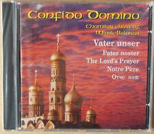 Confido Domino - Vater Unser - Chamber Choir of Minsk - Belarus - CD neu & OVP