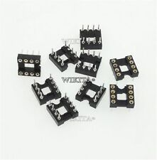 20Pcs Socket Adaptor Dip Round Hole 8Pin Pitch 2.54Mm Diy Ic New Develope S