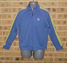 CONVERSE 16 / XL Womens Zipped Top Jacket Blue with Yellow trims Pre owned Clean