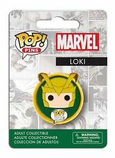 OFFICIAL MARVEL COMICS POP! HEROES THOR'S - LOKI CARTOON PIN/ BADGE *NEW*