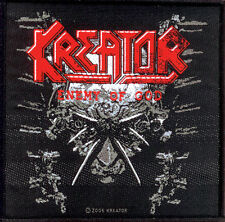 KREATOR - Patch Aufnäher - Enemy of god - neu