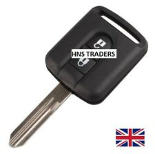 "NEW Replacement 2 Button Key Case For Nissan Micra Navara Note X-Trail""WITH LOGO"