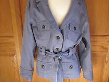 Envision Avenue XL Misses Blue Button Up Casual Blazer/Jacket NWT Very NICE !