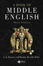 A Book of Middle English by J. A. Burrow and Thorlac Turville-Petre (2004,...