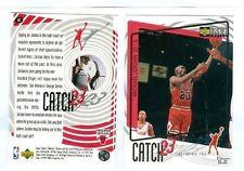 Michael Jordan 1998 MJ Bulls Catch 23 UD CC #187 RARE