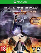 Saints Row IV: Re-Elected & Gat Out of Hell -- First Edition (Microsoft Xbox...
