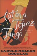 Cat in a Topaz Tango: A Midnight Louie Mystery (Midnight Louie Mysteri-ExLibrary